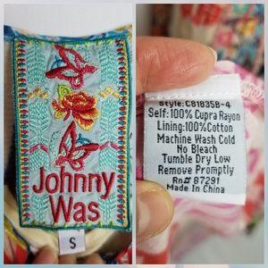 Johnny Was Dresses - Johnny Was Sleeveless Asymmetrical Dress